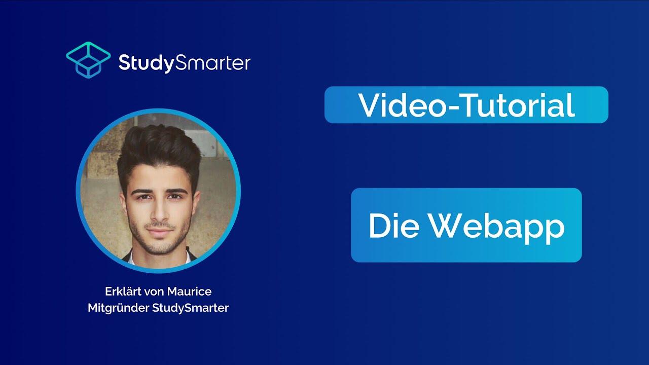Studysmarter Video