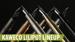 Kaweco Liliput Line-up