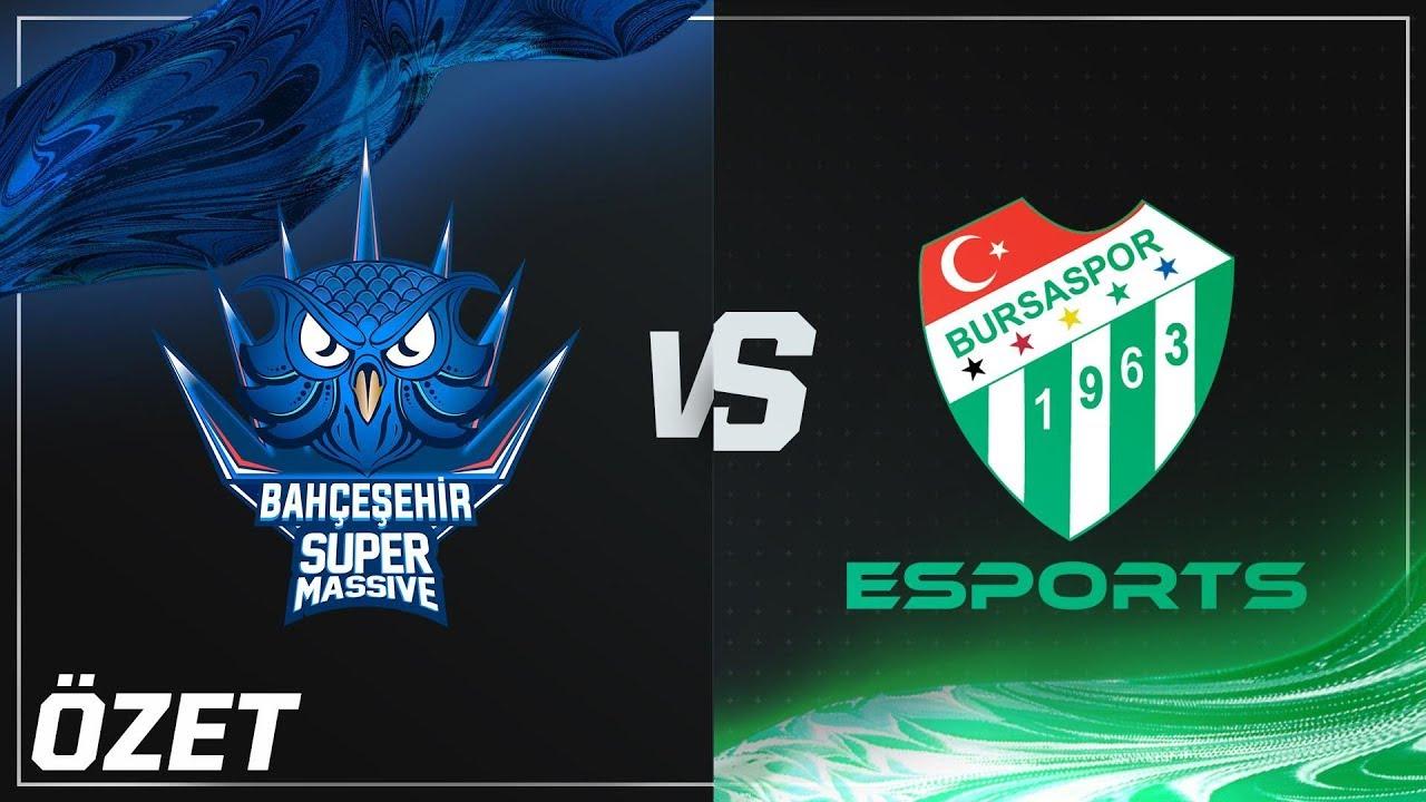 Bahçeşehir SuperMassive ( SUP ) vs Bursaspor Esports ( BUR ) Maç Özeti | 2018 Yaz Mevsimi 9. Hafta Videosu