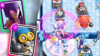OMG WITCH & BOMBER OP DEFENSE!! HOW TO STOP GIANT & SPARKY DECKS