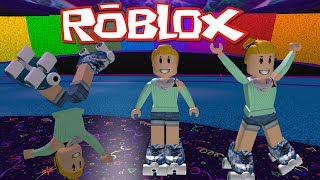 Roller Skating in Roblox ~With An Arcade And Obby Too ~ Roblox Skating Rink