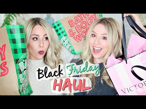 Black Friday Haul 2017!!! VS Pink, Bath + Body Works & more!!