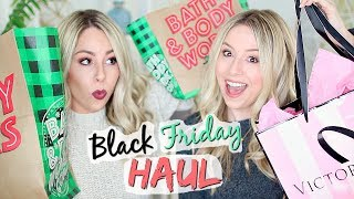 Black Friday Haul 2017!!! VS Pink, Bath + Body Works & more!!