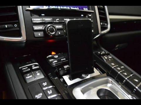 Porsche Fahrzeuge Cayenne Iphone Integration Mount
