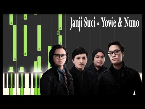 Yovie & Nuno - Janji Suci Piano Tutorial