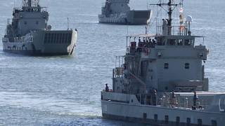 3 Additional Balikpapan Landing Class Heavy Ships from Australia Arrived