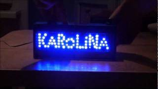 Подарок своими руками из светодиодов.(www.vlad-dirbtuves.6te.net Schem/схема в конце видео: http://youtu.be/bbJkgot1mLQ Вe сделано прaктически по ней,вместо 1 светодиода припo..., 2011-08-20T13:28:22.000Z)