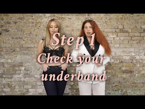 How to check your bra fits correctly - Playful Promises