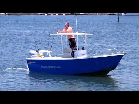 KAPTEN WAVERIDER 610 ~ Amazing stability for an offshore boat