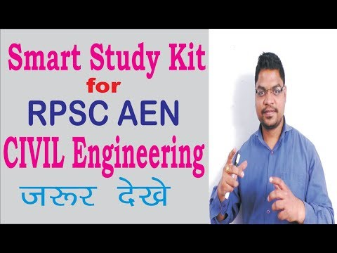 Smart Study Kit for RPSC AEN CIVIL Engineering.