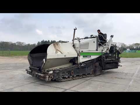 Gebruikte bouwmachine Dynapac Demag DF115C Asfalteermachine