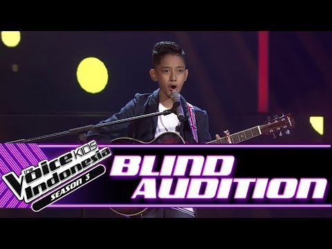 Cello El  Kamulah SatuSatunya  Blind Auditions  The Voice Kids Indonesia Season 3 GTV 2018