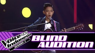 Cello Elby - Kamulah Satu-Satunya | Blind Auditions | The Voice Kids Indonesia Season 3 GTV 2018