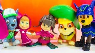 Маша и Медведь мультики про игрушки Щенячий патруль новые серии Развивающие мультфильмы для детей