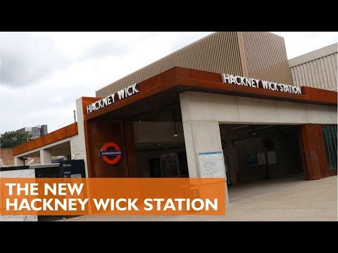 New Hackney Wick Station