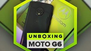 Motorola Moto G6 unboxing