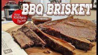 Instant Pot BBQ Brisket (in about 1 Hour) // Tiny Kitchen Big Taste