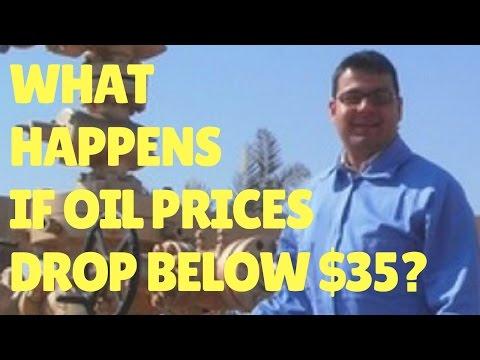 What Happens if Oil Prices Drop Below $35?