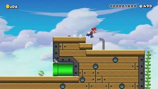 Timing & Error by Javier ~ World Record! - Super Mario Maker - No Commentary