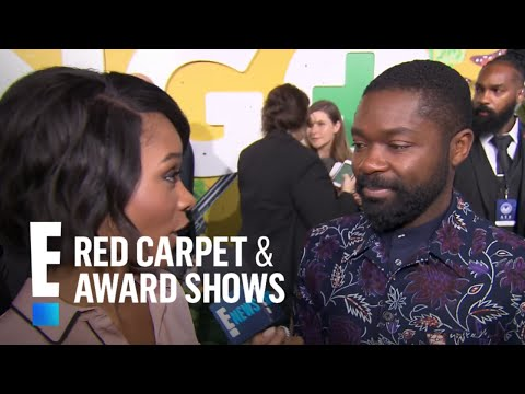 David Oyelowo Reveals Surprising Fact About Charlize Theron  E! Live from the Red Carpet