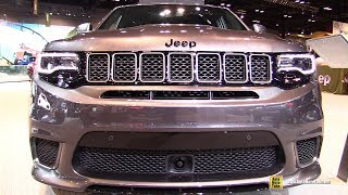 2019 Jeep Grand Cherokee TrackHawk - Exterior and Interior Walkaround - 2019 Chicago Auto Show