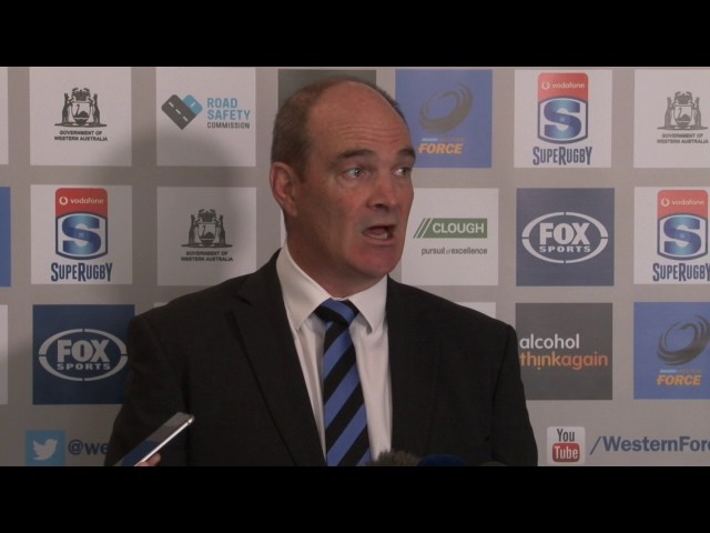 Force CEO Mark Sinderberry on Super Rugby Speculation