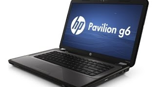 HP Pavilion G6 disassembly and cleaning fan