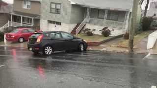 BLACK ICE IN NORTH BERGEN, NJ
