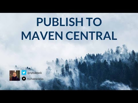 How To Publish A Java Library To Maven Central