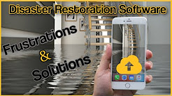 Disaster restoration software frustrations and solutions