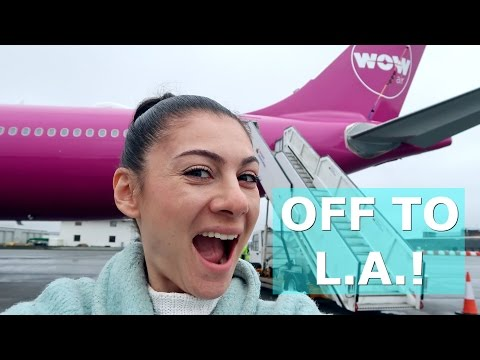 FLYING TO LA WITH WOW AIR DAY 564 | TRAVEL VLOG IV