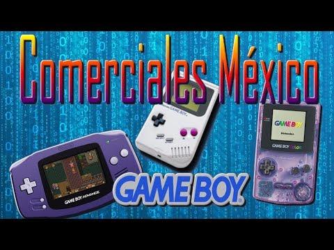 Comerciales Game Boy México 1989 al 2001
