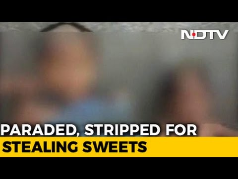 2 Boys Stripped, Paraded With Garlands Of Slippers For 'Stealing' Food