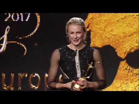 Anoc Awards 2017 Sarah Sjostrom  Winner  Best Female Athlete Europe  Swimming  Sweden