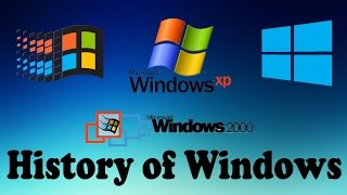 History of Windows (Windows 1.0 - Windows 10)