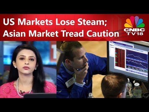 US Markets Lose Steam; Asian Market Tread Caution | Power Breakfast | 24th Oct 2017 | CNBC TV18