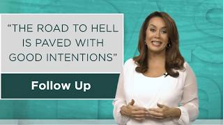 Tips with Sandra Yancey - Follow Up