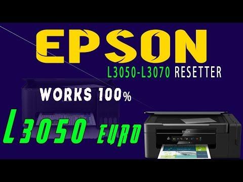 Reset Epson L3050 L3070 , Epson L3050 L3070 Adjustment