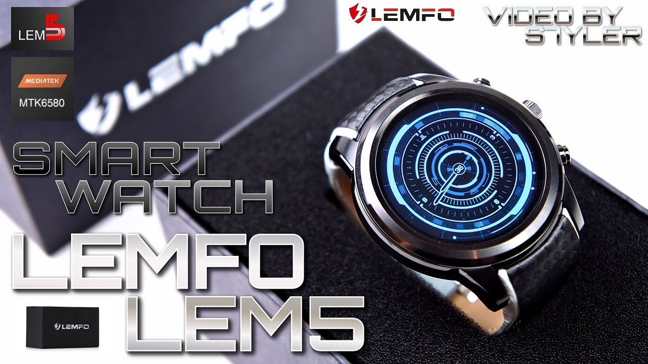 extremely cool china smartwatch lemfo lem5 � indepth