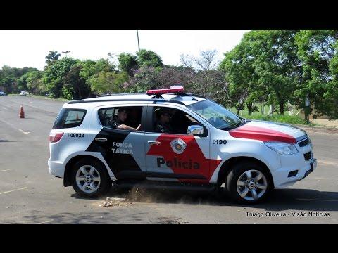 Treinamento Força Tática da Polícia Militar em Marília/SP
