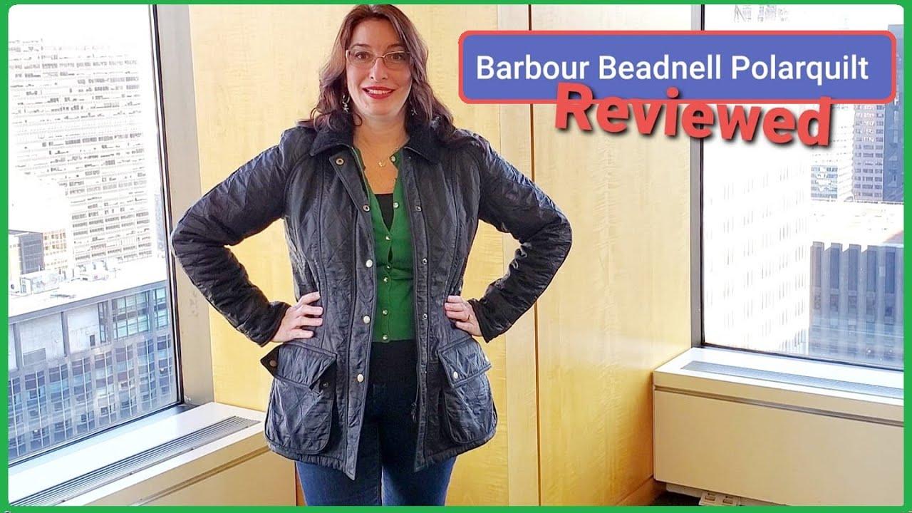 barbour beadnell polarquilt