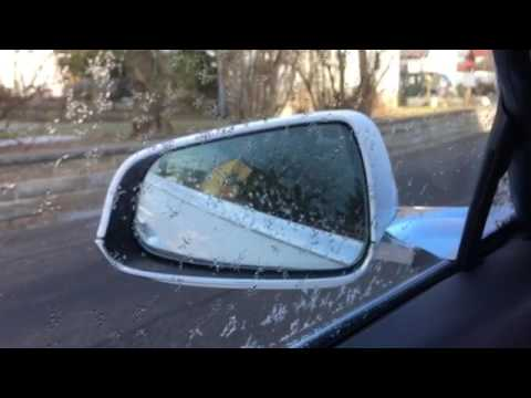 Tesla Model S left mirror problem