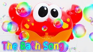 Bath Song|Bathtime for Baby Toddler Songs Lyrics|Bubble Toys Nursery Rhymes Kids Songs