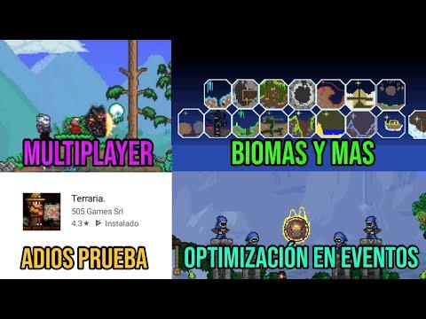 Noticias De Terraria 1.3 Mobile- Multiplayer- ¡¡¡Adiós Versión De Prueba!! Y Más.....