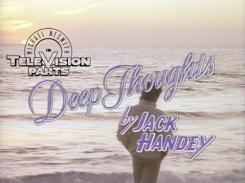 Deep Thoughts by Jack Handey - Big Man from Television Parts