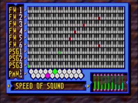 Awesome Sound Tests: Knuckles' Chaotix - Speed of Sound (32X)