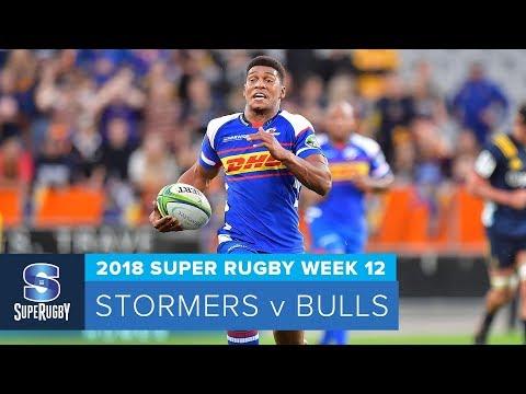 HIGHLIGHTS: 2018 Super Rugby Week 12: Stormers V Bulls