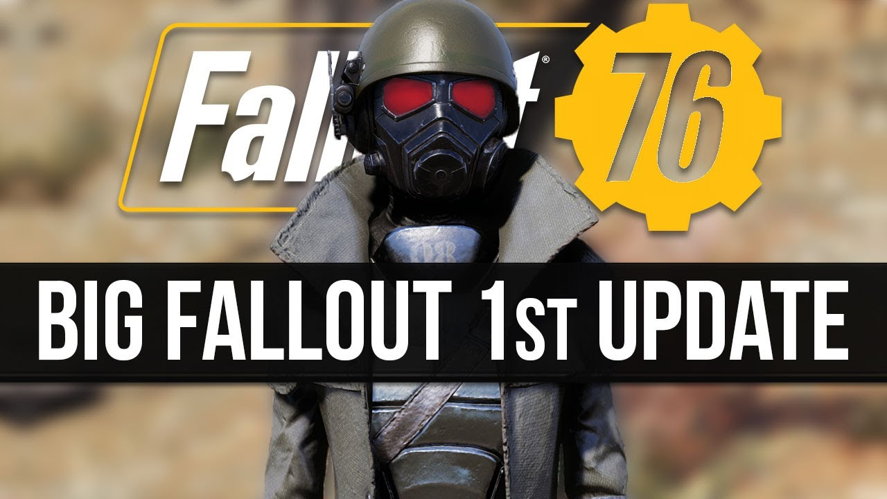 THIS IS IT...Fallout 76's Massive Custom World Update is Finally Here