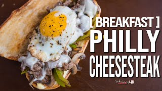 The Ultimate Breakfast Philly Cheesesteak | SAM THE COOKING GUY 4K