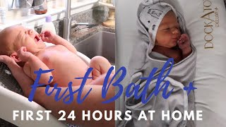 FIRST 24 HOURS WITH A NEWBORN | BRINGING BABY HOME | KASALYN SMITH